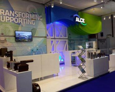 Alce Elektrik 2015 Mee Dubai Fuar Stand