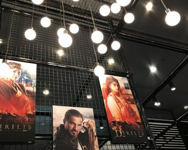 Bozdag ve Tekfen Film  2017 İfTv İstanbul Fuar Standı